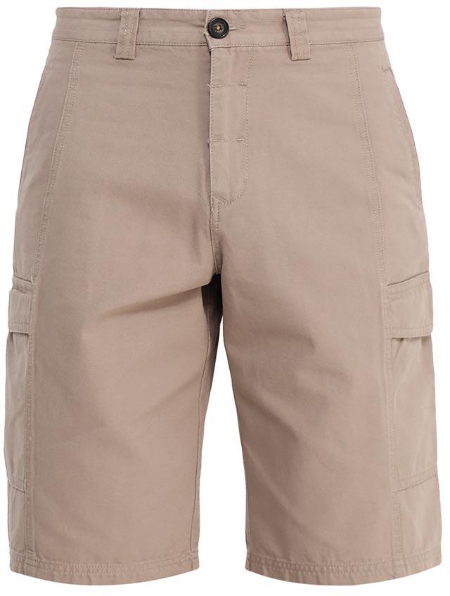 ШортыSH-215/529-7224Стильные мужские шорты Sela, изготовленные из натурального хлопка, станут отличным дополнением гардероба в летний период. Шорты прямого кроя и стандартной посадки на талии застегиваются на застежку-молнию и пуговицу. На поясе имеются шлевки для ремня. Модель дополнена двумя втачными карманами спереди, двумя накладными карманами с клапанами по бокам и двумя прорезными карманами на пуговицах сзади.