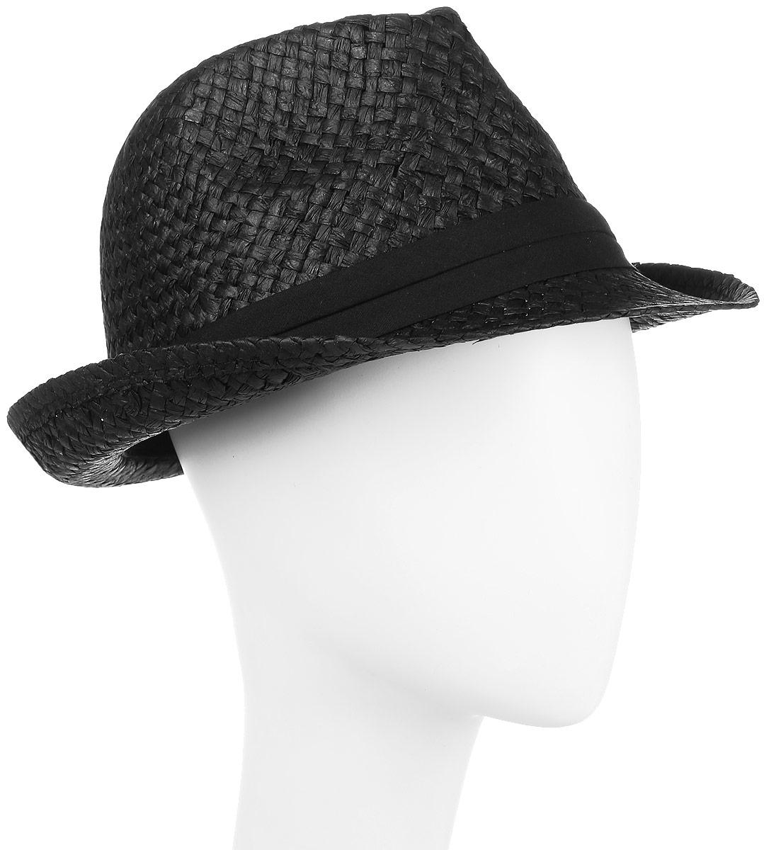 ШляпаHtY131004Молодежная шляпа с ремешком.