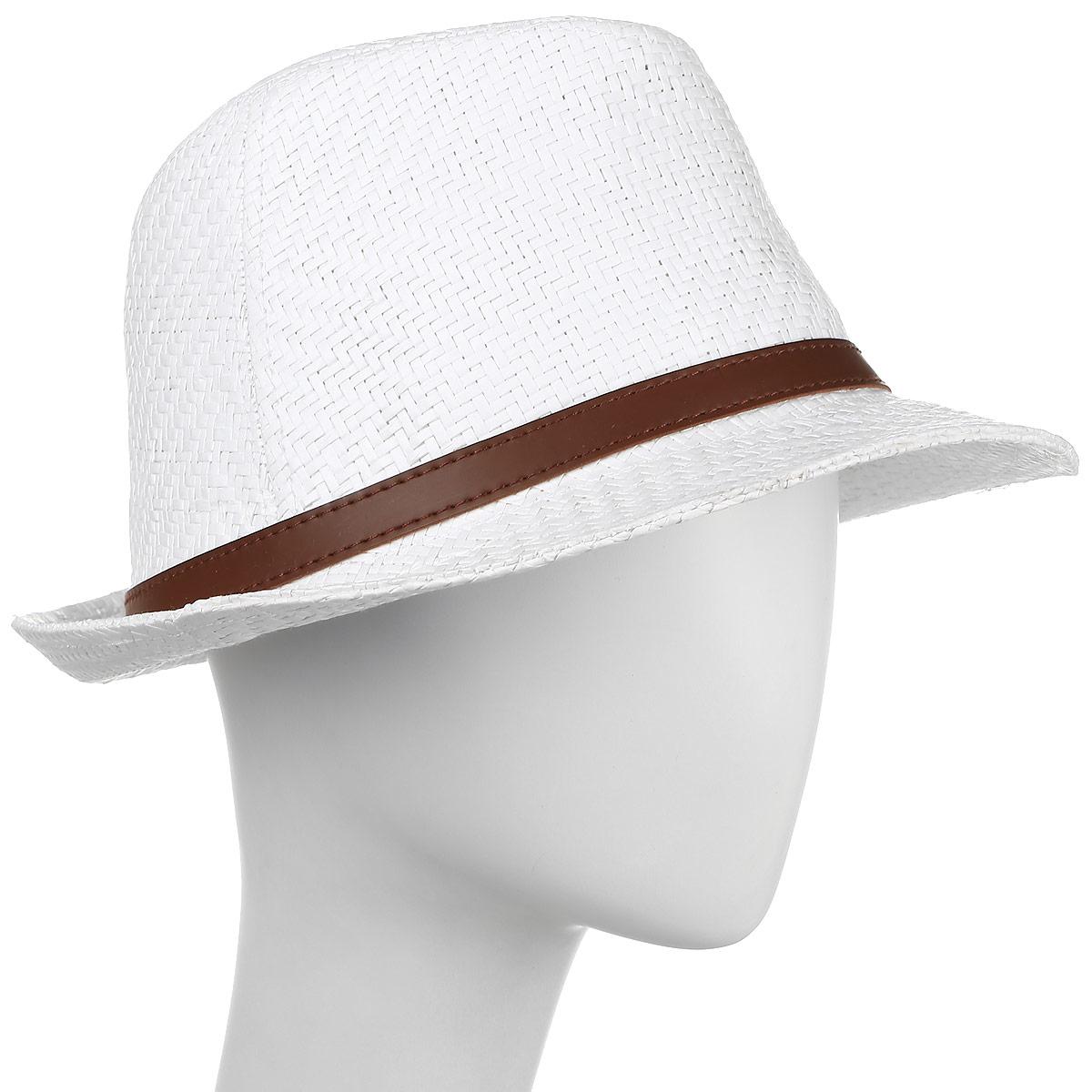 ШляпаHtM131002Классическая соломенная шляпа.