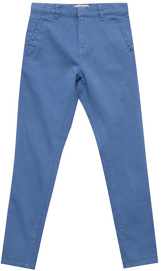 БрюкиP-815/342-7213Стильные брюки для мальчика Sela выполнены из качественного хлопкового материала. Брюки зауженного кроя и стандартной посадки на талии застегиваются на скрытую кнопку и имеют ширинку на застежке-молнии. На поясе имеются шлевки для ремня. Модель стандартной длины с опцией подгибки на 7/8 дополнена прорезными карманами спереди и двумя прорезными карманами на пуговицах сзади.