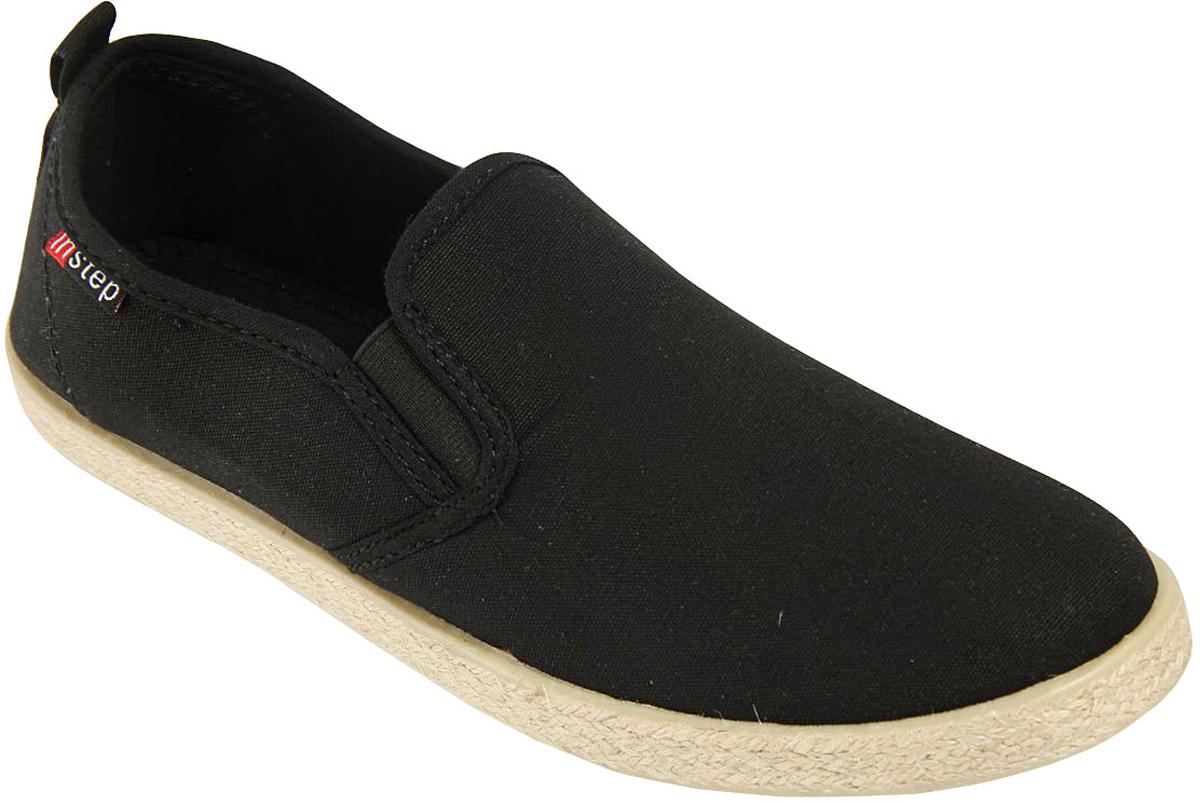СлипоныZ1-1Стильные женские слипоны от In Step выполнены из высококачественного текстиля. Подошва из полимера устойчива к изломам. На подъеме модель дополнена эластичными вставками для удобства надевания. Аккуратно смотрятся на ноге, комфортно носятся.