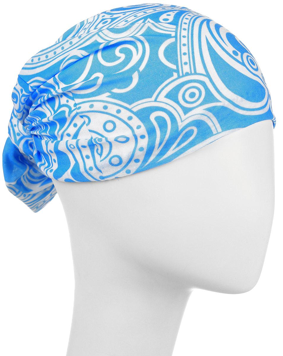 Повязка на головуPoY100240Повязка на голову из хлопка с полиэстером в яркой цветовой гамме. Размер универсальный. Различные варианты носки.