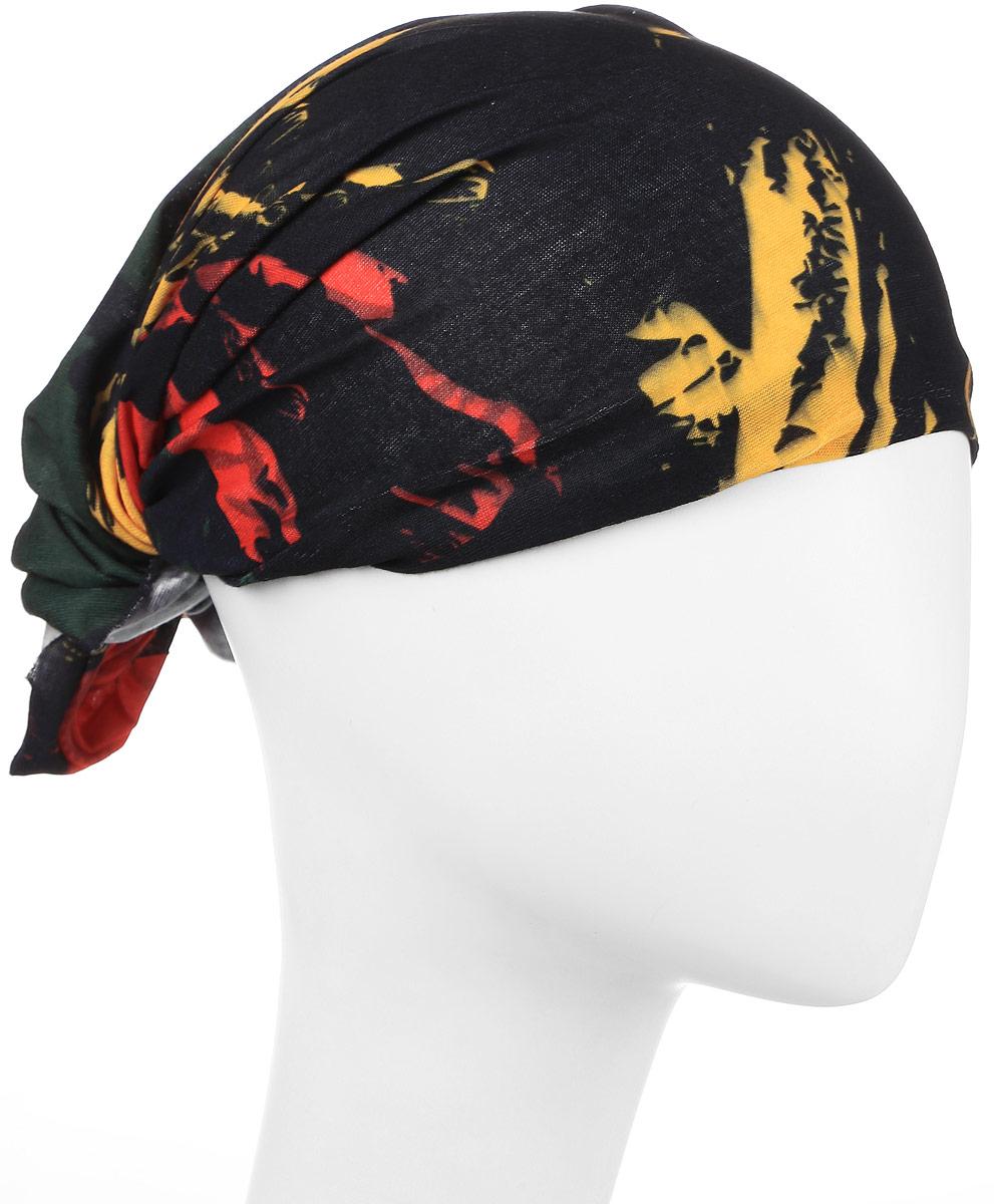 Повязка на головуPoY100231Повязка на голову из хлопка с полиэстером в яркой цветовой гамме. Размер универсальный. Различные варианты носки.