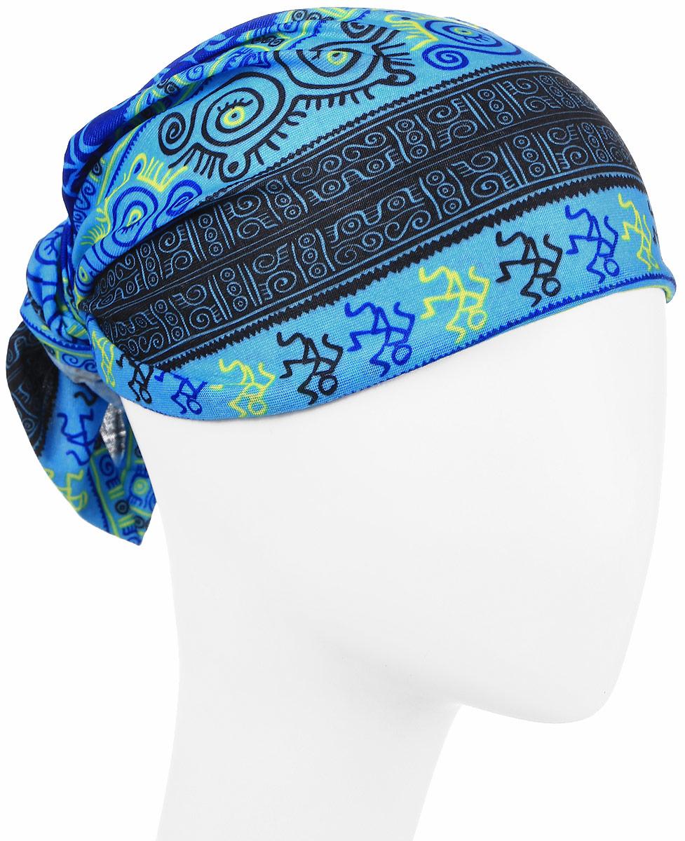 Повязка на головуPoY100226Повязка на голову из хлопка с полиэстером в яркой цветовой гамме. Размер универсальный. Различные варианты носки.
