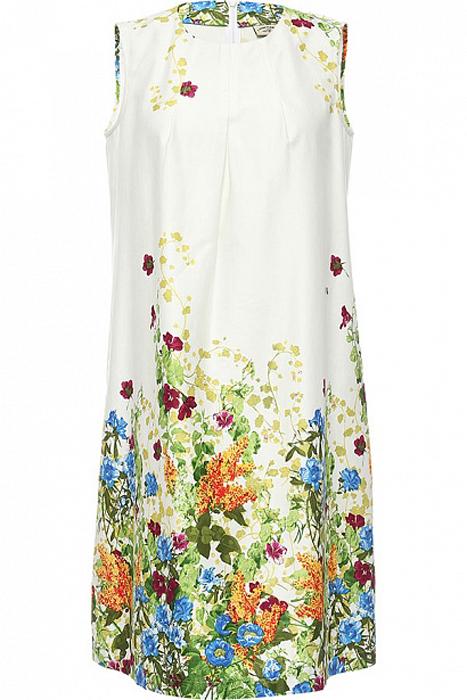 ПлатьеS17-11084_201Платье Finn Flare выполнено из натурального хлопка. Модель с круглым вырезом горловины сзади застегивается на молнию.