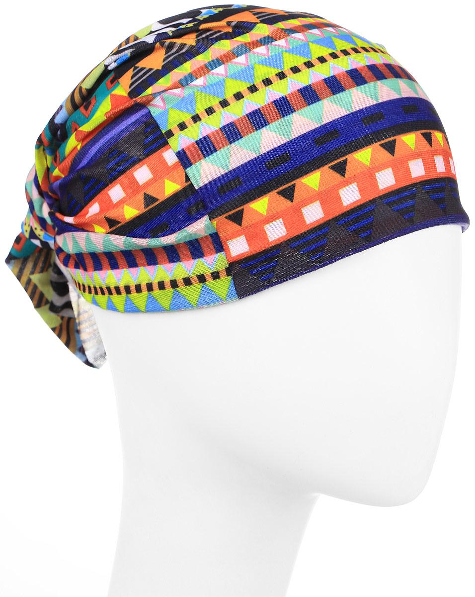 Повязка на головуPoY100230Повязка на голову из хлопка с полиэстером в яркой цветовой гамме. Размер универсальный. Различные варианты носки.
