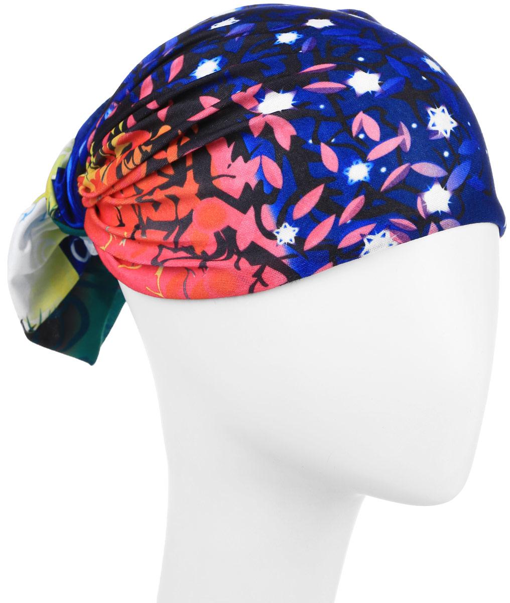 Повязка на головуPoY100232Повязка на голову из хлопка с полиэстером в яркой цветовой гамме. Размер универсальный. Различные варианты носки.