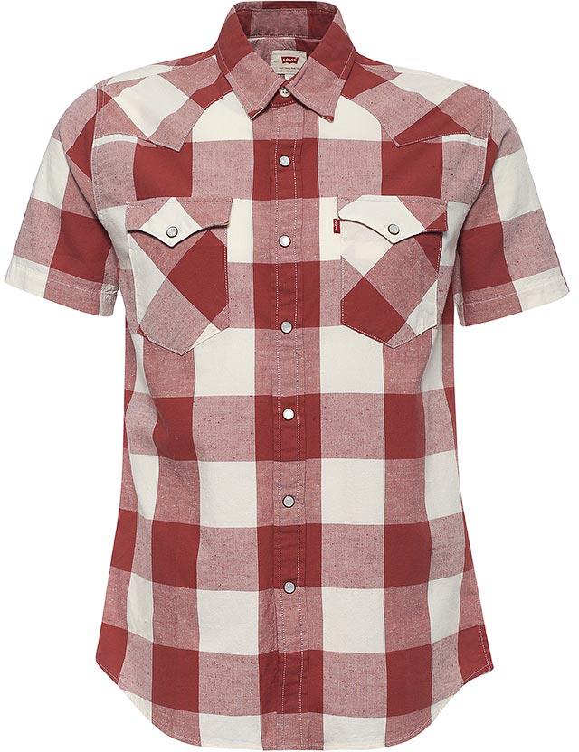 Рубашка2197800300Рубашка с коротким рукавом в стиле Western shirt, с характерными клапанами на карманах