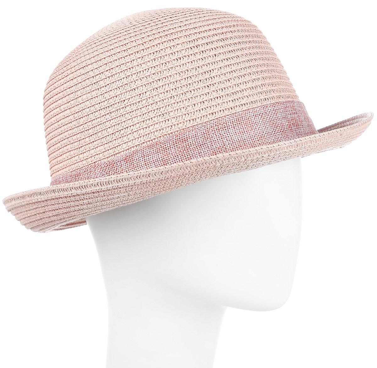 ШляпаHtW100292Шляпа женская с цветами.
