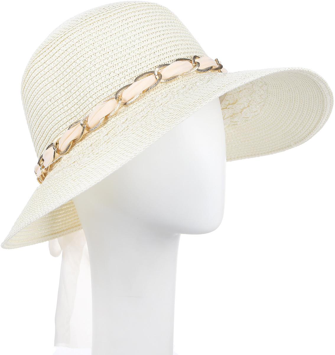 ШляпаHtW100275Нежная женская шляпа, украшенная бантом.