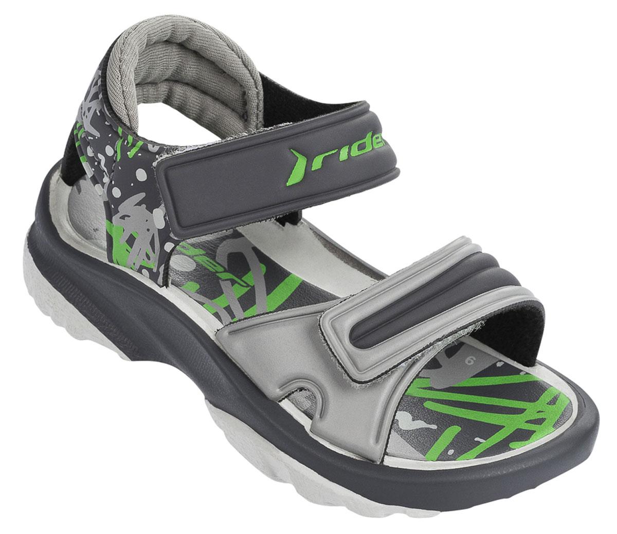 Сандалии81912-20996Стильные детские сандалии K2 Twist Vi Baby от Rider выполнены из ЭВА материала. Ремешки с застежками-липучками отвечают за надежную фиксацию модели на ножке вашего ребенка. Стелька из материала ЭВА для максимального комфорта и амортизации. Гибкая подошва дополнена рифлением.