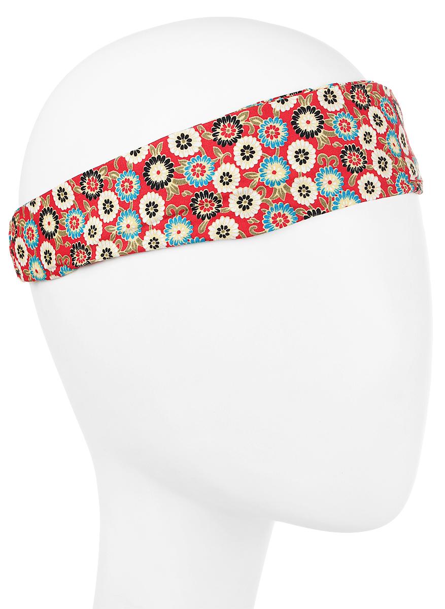 Повязка на головуPoW141039Повязка на голову из хлопка с полиэстером в яркой цветовой гамме. Размер универсальный. Различные варианты носки.