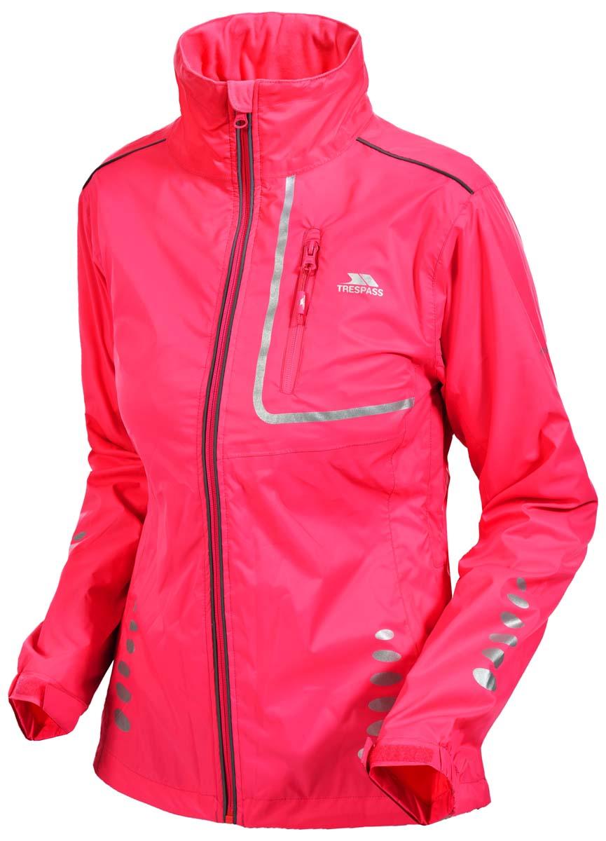 ВетровкаFAJKRAK20018Великолепная женская куртка из мембранного материала с показателями водонепроницаемости 5000мм, дышимости 5000г/м2/24ч для занятия велоспортом. Светоотражающие вставки.