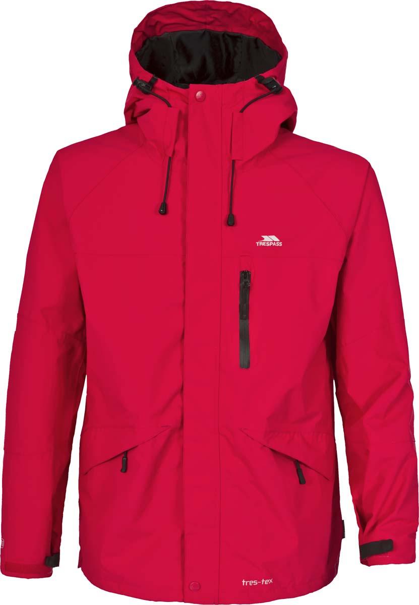 ВетровкаMAJKRAF20008Великолепная мужская куртка из мембранного материала с показателями водонепроницаемости 5000мм, дышимости 5000г/м2/24ч для занятия спортом.