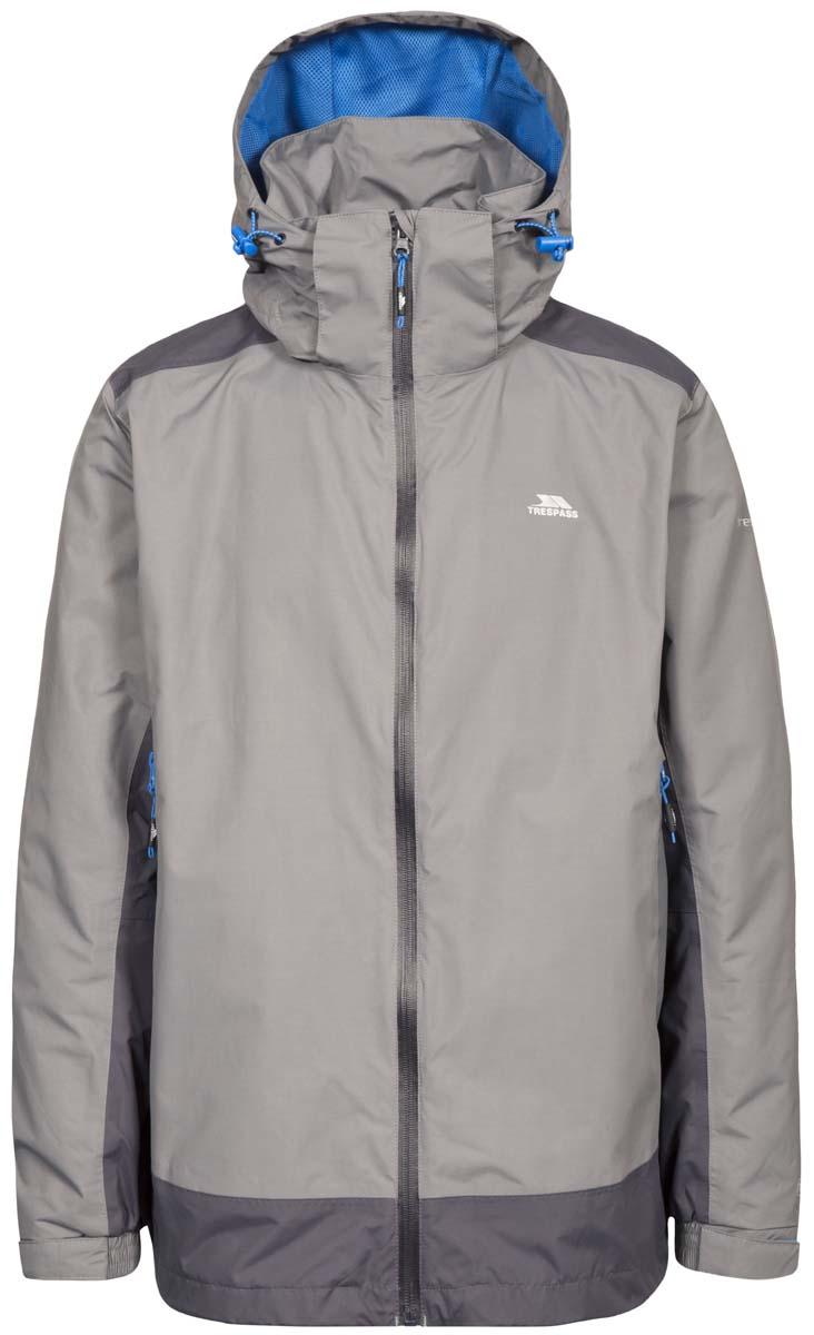 ВетровкаMAJKRAM10011Великолепная мужская куртка из мембранного материала с показателями водонепроницаемости 5000мм, дышимости 5000г/м2/24ч для занятия спортом.