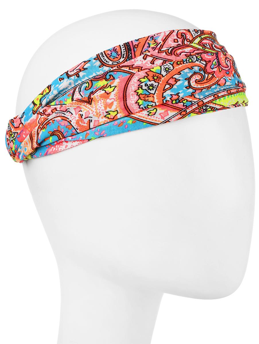 Повязка на головуPoW100280Повязка на голову из хлопка с полиэстером в яркой цветовой гамме. Размер универсальный. Различные варианты носки.