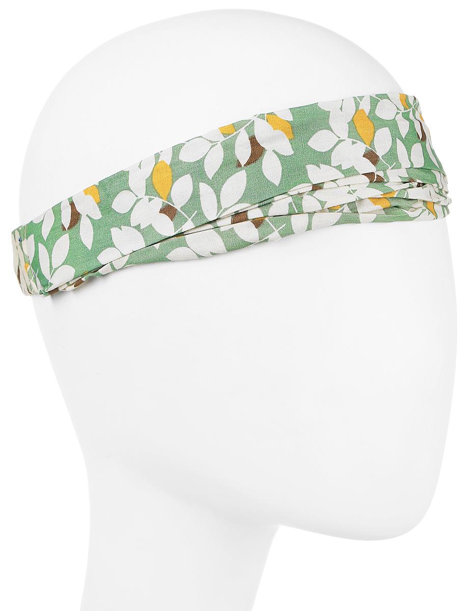 Повязка на головуPoW141031Повязка на голову из хлопка с полиэстером в яркой цветовой гамме. Размер универсальный. Различные варианты носки.