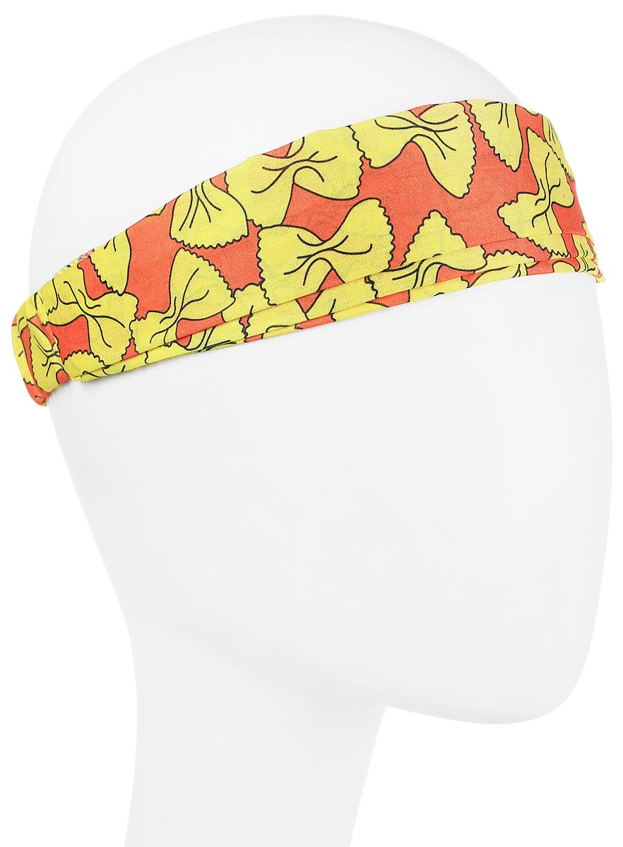 Повязка на головуPoW100271Повязка на голову из хлопка с полиэстером в яркой цветовой гамме. Размер универсальный. Различные варианты носки.