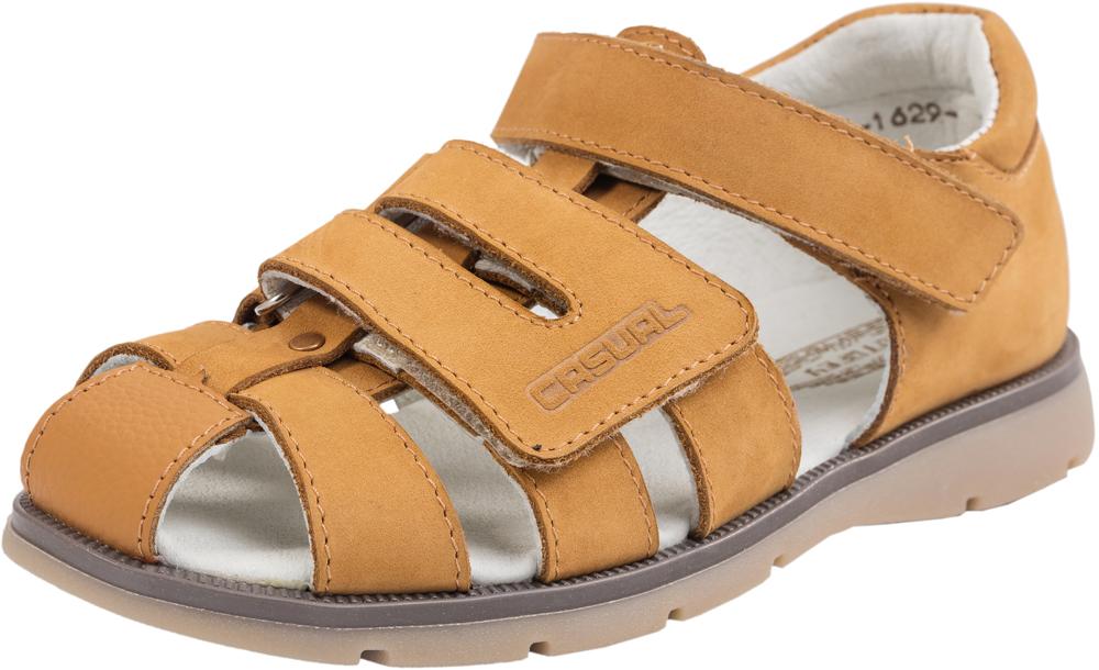 Сандалии522093-22/622046-22Модные сандалии для мальчика от Котофей выполнены из натуральной кожи. Внутренняя поверхность из натуральной кожи и стелька из материала ЭВА с поверхностью из натуральной кожи обеспечат комфорт при движении. Ремешки с застежками-липучками надежно зафиксируют модель на ноге. Подошва дополнена рифлением.
