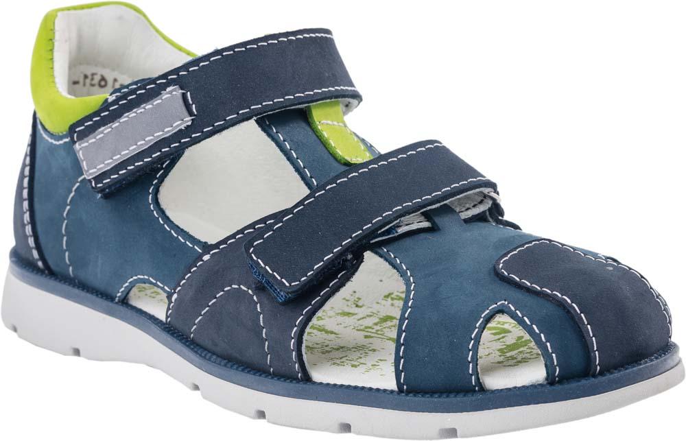 Сандалии522096-21Модные сандалии для мальчика от Котофей выполнены из натуральной кожи. Ремешки с застежками-липучками надежно зафиксируют модель на ноге. Внутренняя поверхность и стелька из натуральной кожи обеспечат комфорт при движении. Подошва дополнена рифлением. .