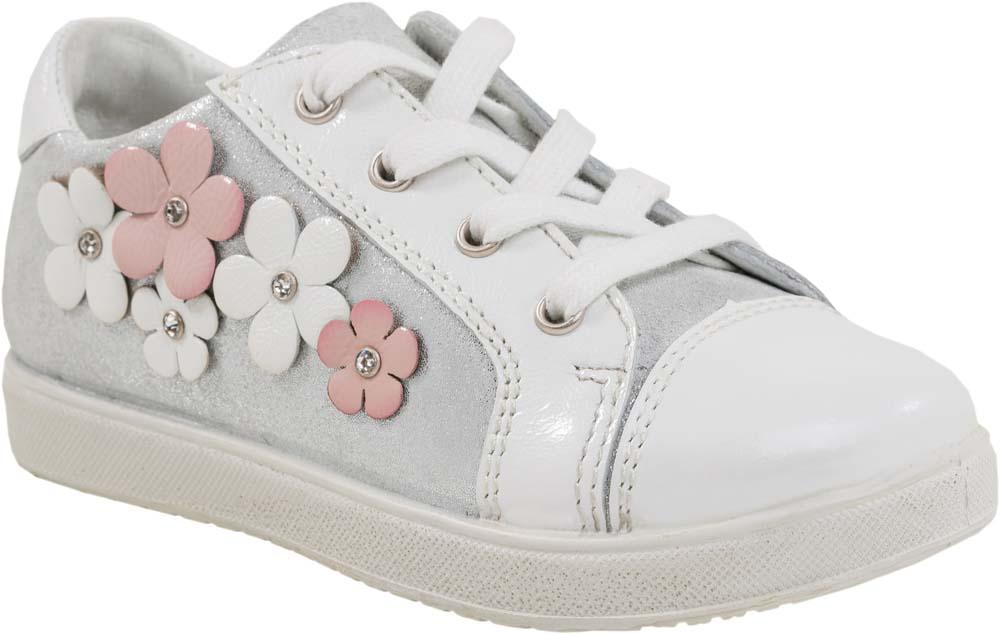 Ботинки432127-21/232070-21Модные ботинки для девочки от Котофей, выполненные из натуральной кожи, оформлены сбоку декоративными цветками. Внутренняя поверхность и стелька из натуральной кожи обеспечат комфорт при движении. Шнуровка надежно зафиксирует модель на ноге. Боковая застежка-молния позволяет легко снимать и надевать модель. Подошва дополнена рифлением.