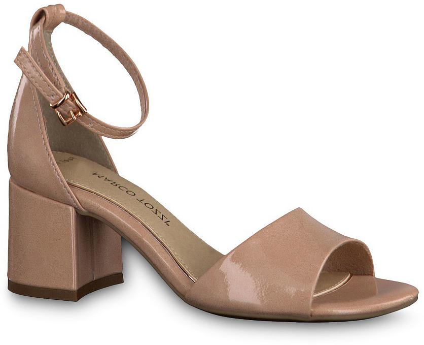 Сандалии2-2-28316-28-521/220Эффектные женские сандалии от Marco Tozzi не оставят равнодушной настоящую модницу. Модель изготовлена из искусственной кожи. Ремешок с пряжкой прочно зафиксирует модель на вашей щиколотке. Стелька из искусственной кожи и прострочкой по контуру комфортна при ходьбе. Стильные сандалии помогут вам создать яркий запоминающийся образ.