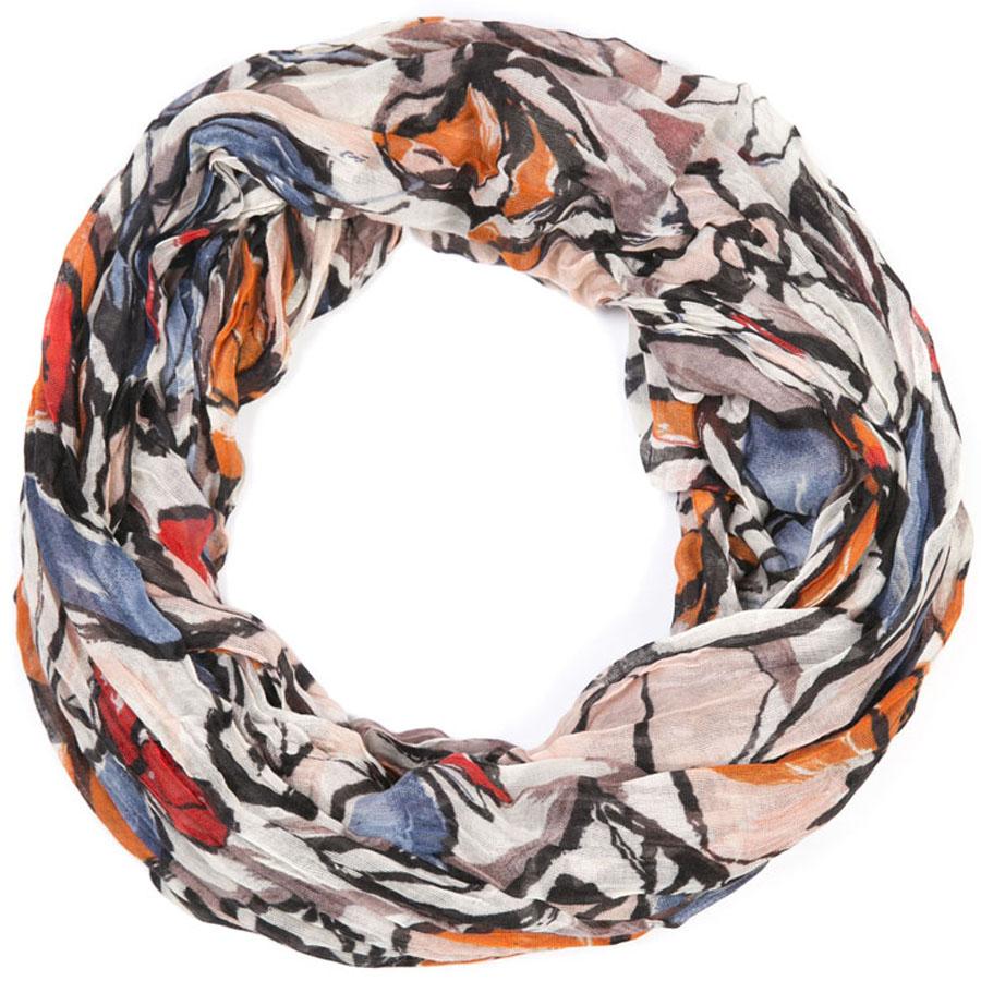 Снуд-хомутSNUD2-FLOWER1Женский снуд - аксессуар, с помощью которого легко создать элегантный запоминающийся образ! Особенности модели: нежная на ощупь текстура; тонкость и удивительная лёгкость; изящный дизайн. 100% хлопок.