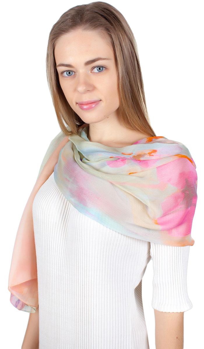 ПалантинYY-11721-11Яркий палантин Sophie Ramage изготовлен из модала и шелка. Модель оформлена оригинальным принтом. Изделия Sophie Ramage приятные на ощупь и подойдут к любому стилю.