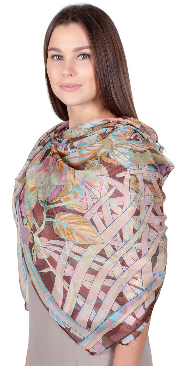 ПлатокYY-11721-2Яркий платок Sophie Ramage изготовлен из качественной смесовой ткани. Модель оформлена оригинальным принтом. Изделия Sophie Ramage приятные на ощупь и подойдут к любому стилю.