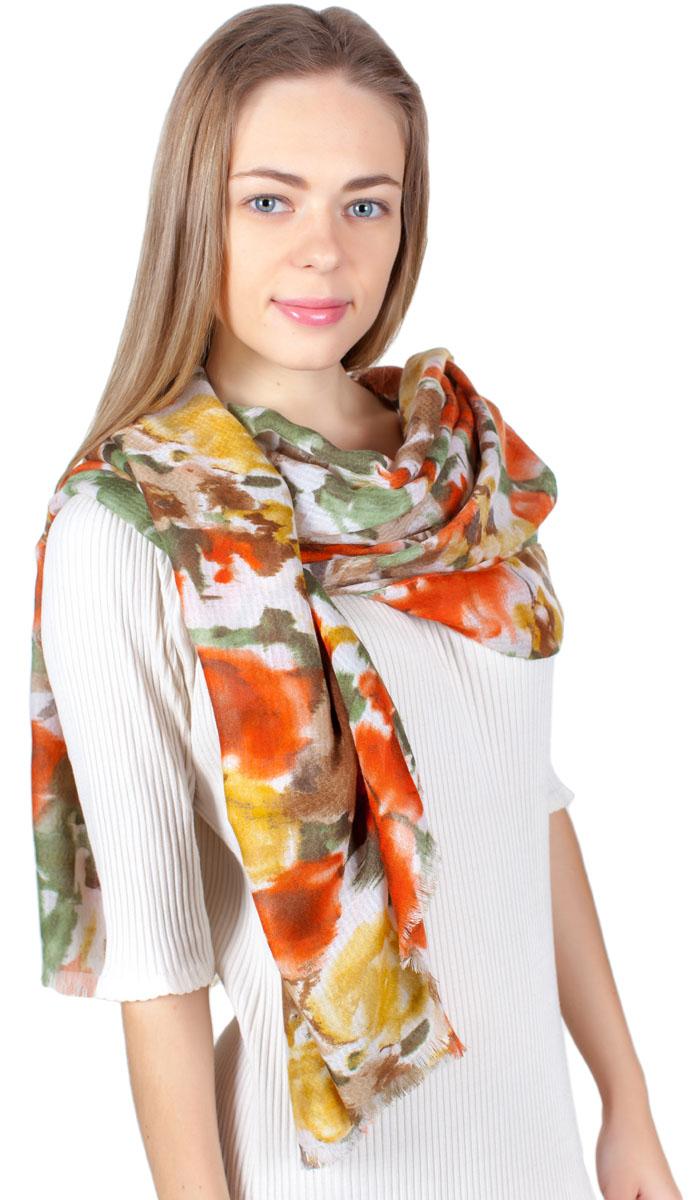 ПалантинYY-11722-10Яркий палантин Sophie Ramage изготовлен из модала и шелка. Модель оформлена оригинальным принтом. Изделия Sophie Ramage приятные на ощупь и подойдут к любому стилю.
