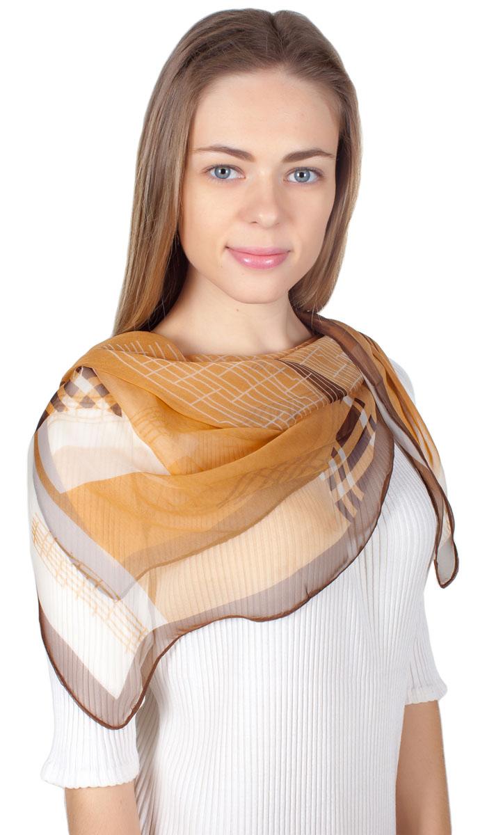 ПлатокYY-11730-29Яркий платок Sophie Ramage изготовлен из шелка и полиэстера. Модель оформлена оригинальным принтом. Изделия Sophie Ramage приятные на ощупь и подойдут к любому стилю.