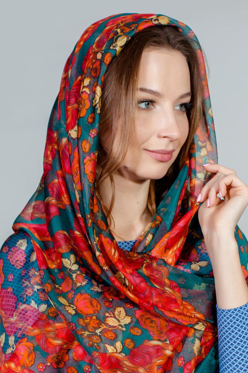 ПлатокYY-11730-37Яркий платок Sophie Ramage изготовлен из шелка и полиэстера. Модель оформлена оригинальным принтом. Изделия Sophie Ramage приятные на ощупь и подойдут к любому стилю.