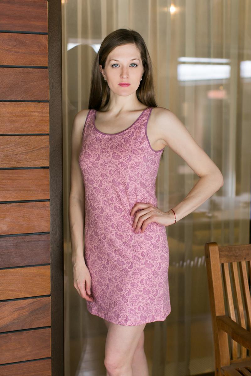 Платье домашнее17110522Платье (туника) майка, Мультиколор