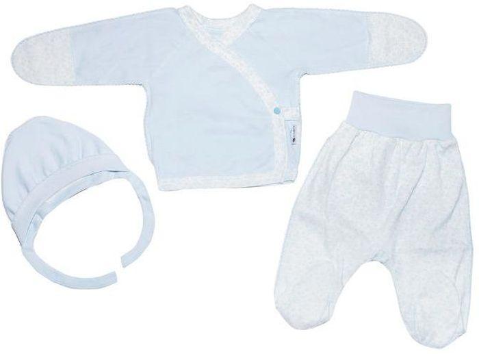 Комплект одежды33к-5182комплект состоит из распашонки, чепчика и ползунков, 100% хлопок