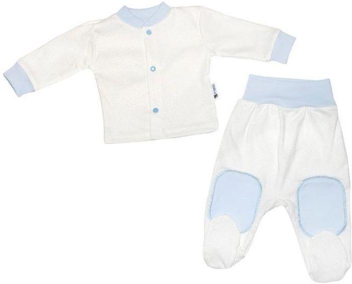 Комплект одежды33с-2018комплект состоит из кофточки и ползунков, 100% хлопок