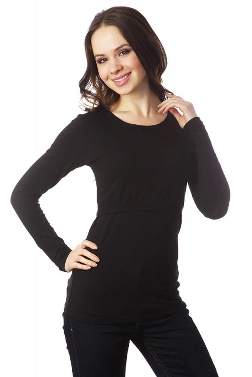 Лонгслив9489Когда в простой футболке уже холодно, а в теплом джемпере еще жарко, идеальным решением станет лонгслив Mum's Era, который отлично подходит для беременных и кормящих. Лонгслив имеет длинные рукава стандартного кроя и круглый вырез горловины. Исполненный из вискозы с добавлением лайкры, он приятен к телу и эластичен. При беременности нежно укроет растущий животик, а после родов удобный секрет для кормления позволит с комфортом кормить вашего малыша.