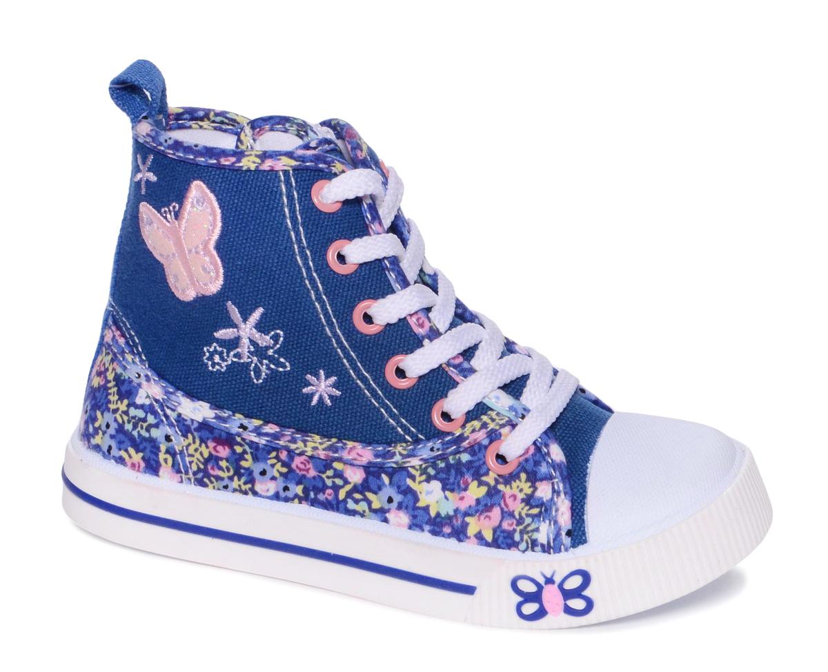 Кеды101124Стильные кеды от Mursu придутся по душе вашей юной моднице. Модель выполнена из качественного текстиля с оригинальным принтом. На заднике предусмотрена петелька для удобства обувания. Хлястик с липучкой и боковая молния прочно закрепят модель на ножке. Подкладка и стелька из текстиля и натуральной кожи гарантируют комфорт при носке. Гибкая мягкая подошва обеспечивает идеальное сцепление с разными поверхностями.