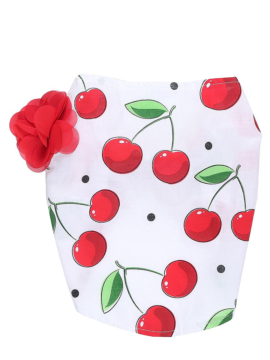Повязка на голову детская714169Яркая повязка на голову для девочки Sweet Berry, изготовленная из качественного эластичного хлопка, защитит голову вашей малышки от солнца и сильного ветра. Модель оформлена модным принтом и объемным цветком и дополнена мягкой эластичной резинкой для фиксации на голове. Уважаемые клиенты! Размер, доступный для заказа, является обхватом головы.