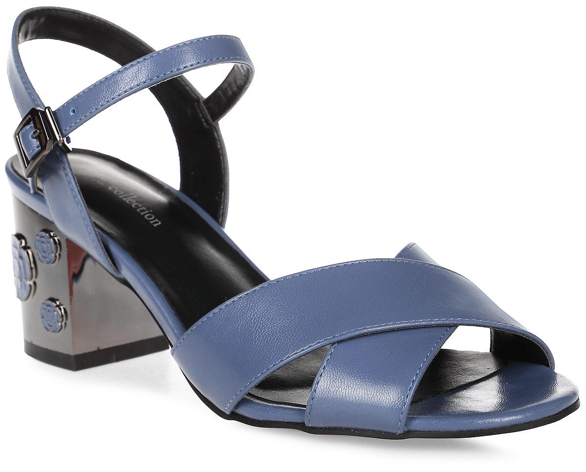 БосоножкиSP-EA2001-2 PU (SP-E43001-5)Стильные босоножки на устойчивом квадратном каблуке выполнены из искусственной кожи. Босоножки фиксируются на ноге при помощи застежки-пряжки.