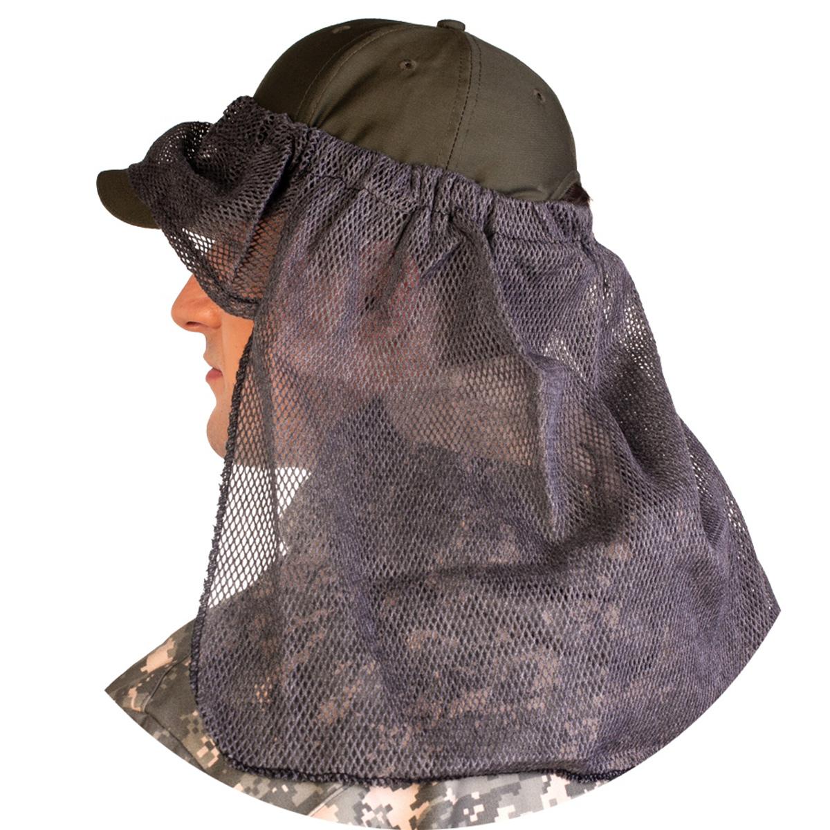 Бейсболка08/0/00Противомоскитные сетки применяются в комплекте с костюмом Биостоп ХБР для дополнительной защиты от комаров и гнуса. Надевается на капюшон защитного костюма или на головной убор. Состоит из налобника и пелерины. По верхнему краю сетка стягивается тесьмой эластичной, поэтому она универсальна для всех размеров обхвата