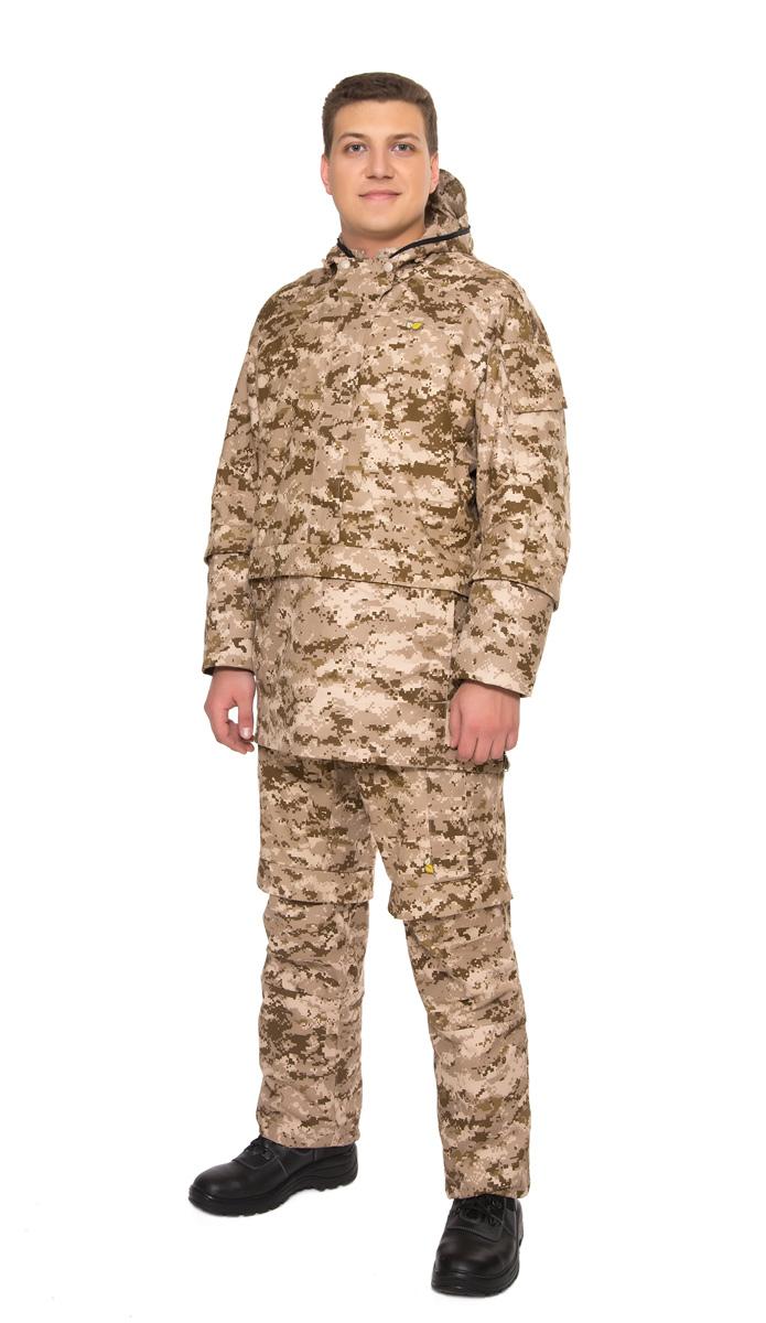 Костюм противоэнцефалитный02/1/02Созданный с учетом пожеланий охотников и рыболовов костюм Биостоп Оптимум обеспечивает защиту от укусов клещей и кровососущих насекомых. Дополняющая его антимоскитная сетка, встроенная в капюшон, защитит лицо от мошки и гнуса. Защитные свойства костюма сохраняются даже после 50 стирок. Капюшон куртки дополнен антимоскитной сеткой на молнии, которая быстро застегивается в случае необходимости и также легко убирается;4 кармана на куртке; 4 кармана на брюках; объемный крой локтевой и коленной зоны для полной свободы движений; нижняя часть куртки с мягкой хлопчатобумажной подкладкой, заправляющейся в брюки; рукава и брюки снизу с внутренними манжетами, манжеты брюк заправляются в обувь; обработанные противоклещевым средством участки костюма не контактируют с кожей.