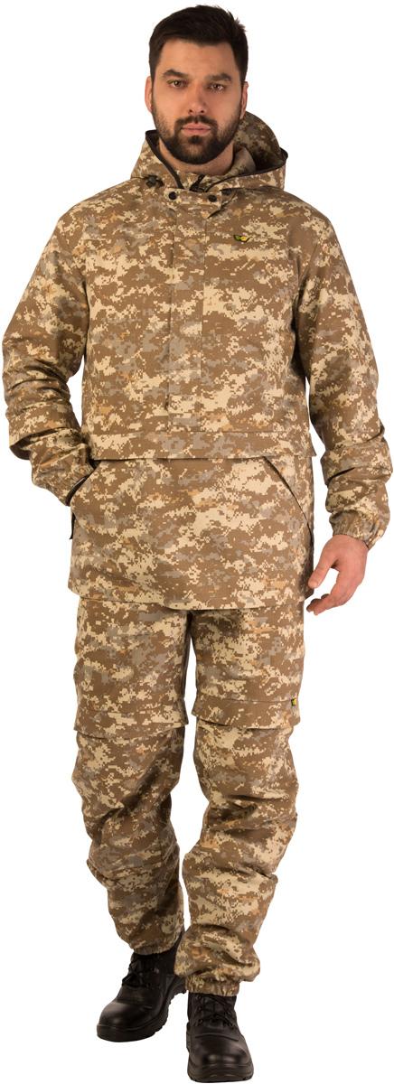 Костюм противоэнцефалитный03/1/10Костюм свободного кроя обеспечивает защиту от укусов клещей, а система сдвоенных размеров делает его идеальным выбором для людей с нестандартной фигурой. Дополняющая костюм антимоскитная сетка защитит лицо от мошки и гнуса. Легкий, дышащий Биостоп Лайт очень удобен в носке, эргономичен и просто идеален для походов в лес в летнее время, станет надежным напарником на рыбалке и охоте в летний период. Защитные свойства костюма сохраняются даже после 50 стирок. Капюшон дополнен антимоскитной сеткой на молнии, которая быстро застегивается в случае необходимости и также легко убирается;2 прорезных кармана в нижней части куртки; 2 прорезных кармана на молнии на брюках.