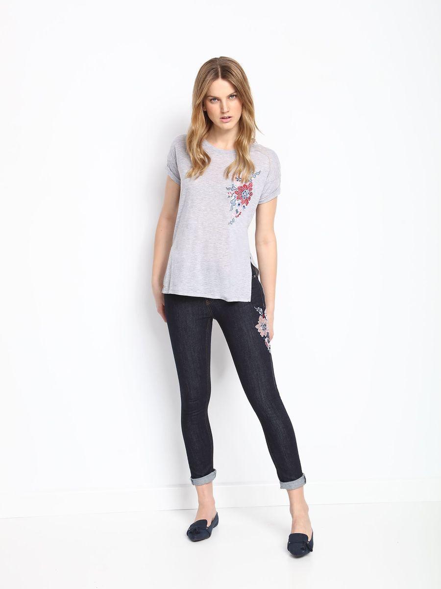 БрюкиSSP2516NIСтильные женские брюки Top Secret - брюки высочайшего качества на каждый день, которые прекрасно сидят. Модель изготовлена из высококачественного комбинированного материала. Эти модные и в тоже время комфортные брюки послужат отличным дополнением к вашему гардеробу. В них вы всегда будете чувствовать себя уютно и комфортно.