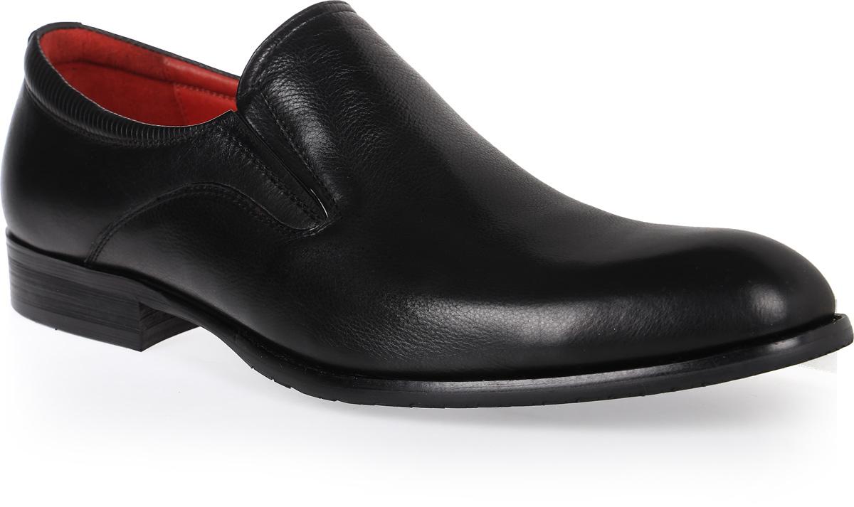 Туфли3-661-1Стильные мужские туфли от Vera Victoria Vito не оставят вас равнодушным! Модель выполнена из натуральной кожи. Стелька, выполненная из натуральной кожи, обеспечивает комфорт при ходьбе. Резинки обеспечивают оптимальную посадку модели на ноге. Подошва и каблук с противоскользящим рифлением. Туфли в классическом стиле станут прекрасным дополнением вашего образа.