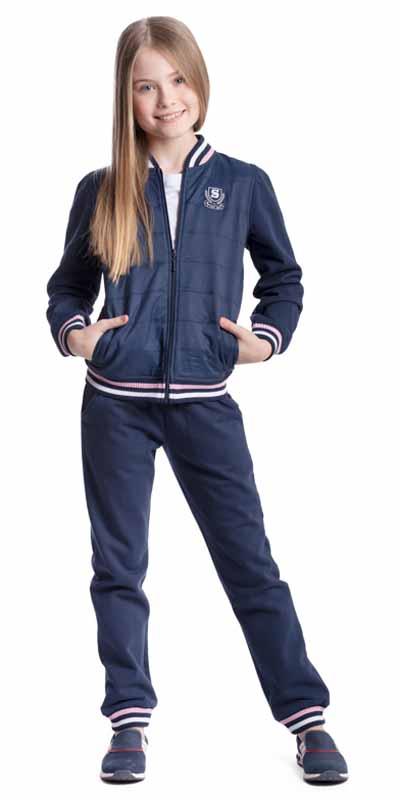 Спортивный костюм374511Комплект трикотажный для девочек: толстовка, брюки