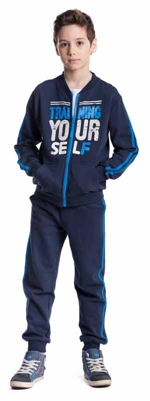 Спортивный костюм373460Комплект трикотажный для мальчиков: толстовка, брюки