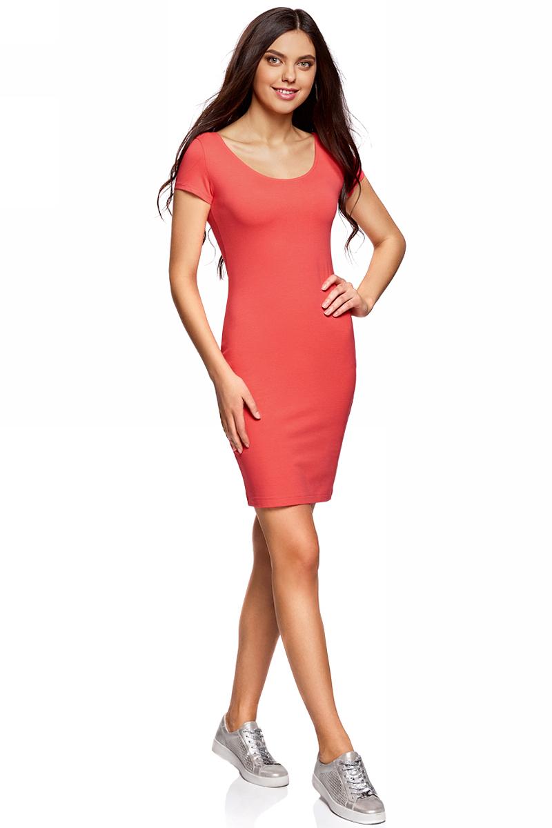 Платье24001082-2B/47420/2000MПлатье облегающего силуэта с глубоким вырезом на спине