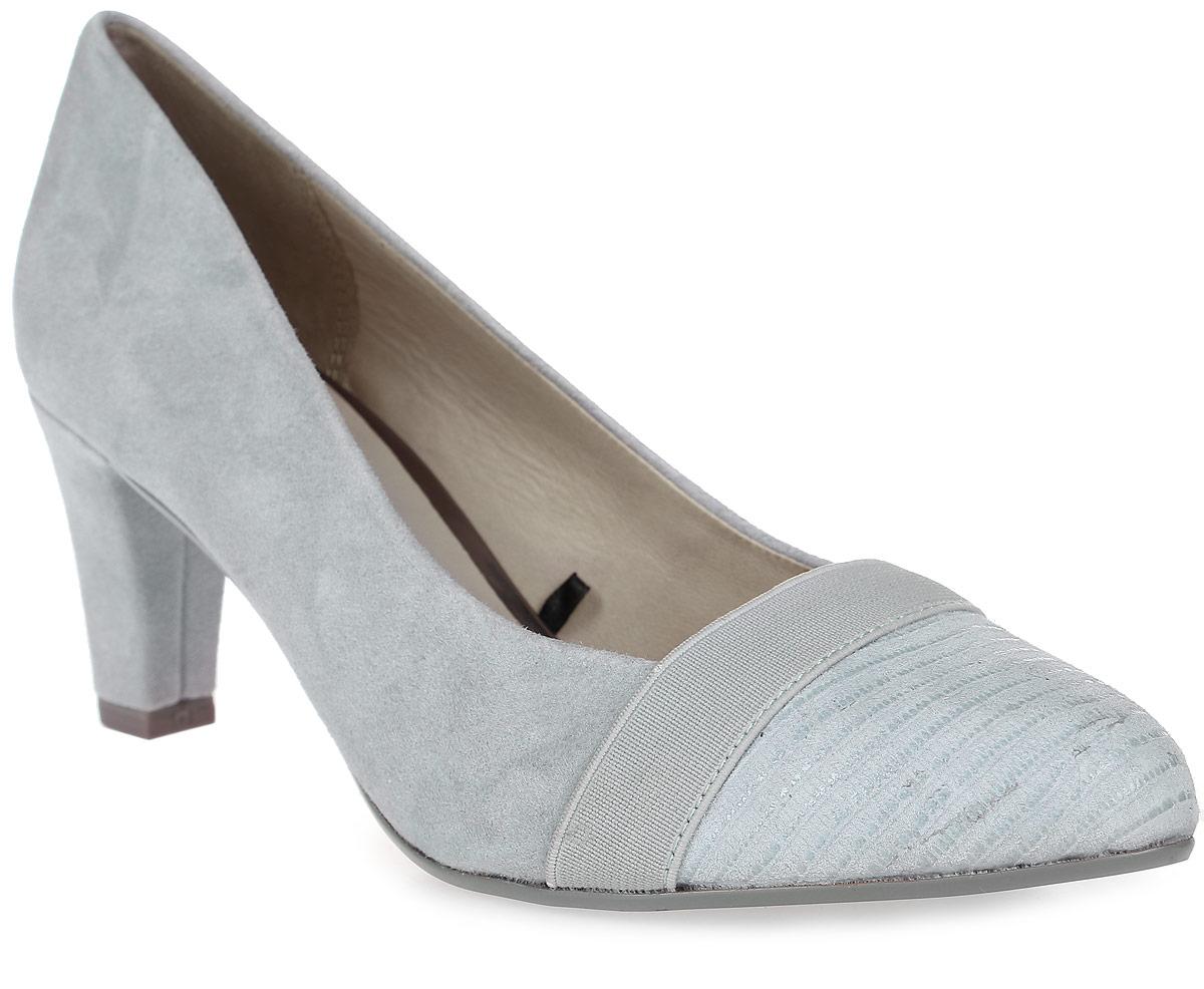Туфли8-8-22409-28-833/265Стильные туфли от Be Natural не оставят равнодушной настоящую модницу! Модель выполнена из натуральной кожи. Мыс оформлен текстильной лентой. Закругленный носок добавляет женственности. Подкладка и стелька из натуральной кожи обеспечивают максимальный комфорт. Каблук умеренной высоты невероятно устойчив. Подошва с рифлением обеспечивает идеальное сцепление с любыми поверхностями. Элегантные туфли внесут изысканные нотки в ваш образ и подчеркнут вашу утонченную натуру.
