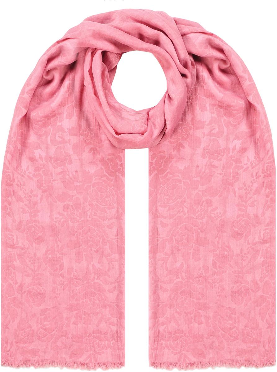 Палантин21/0509/117Женственный палантин с натуральным хлопком в составе и цветочным принтом, полученным путем выжега на ткани. По торцевым сторонам декорирован бахромой. Размеры: 180х100 см. Состав: 35% хлопок, 65% полиэстр.