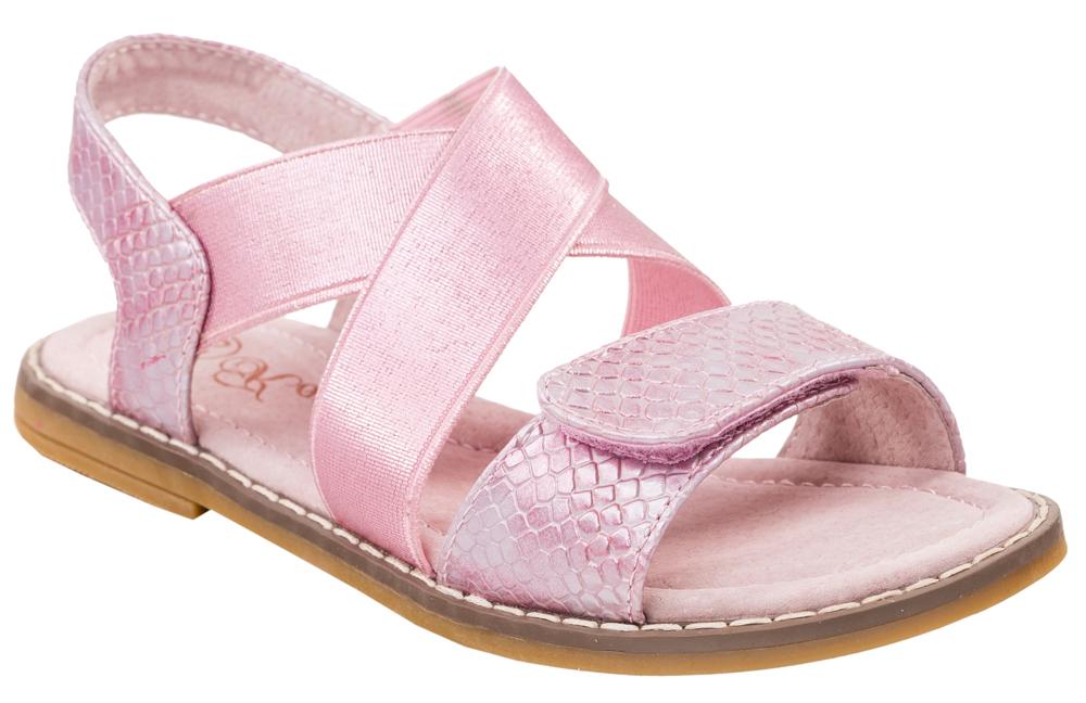 Сандалии524016-21Модные сандалии для девочки от Котофей выполнены из искусственной кожи с тиснением под рептилию. Внутренняя поверхность и стелька из натуральной кожи обеспечат комфорт при движении. Передний ремешок с застежкой-липучкой и эластичные резинки на подъеме надежно зафиксируют модель на ноге. Подошва дополнена рифлением.